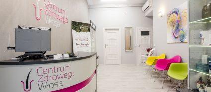centrum zdrowego włosa recepcja