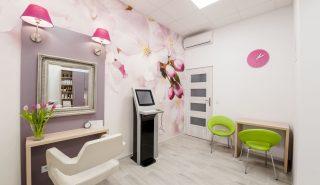 gabinet konsultacyjny w centrum zdrowego włosa