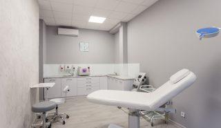 gabinet zabiegowy w centrum zdrowego włosa